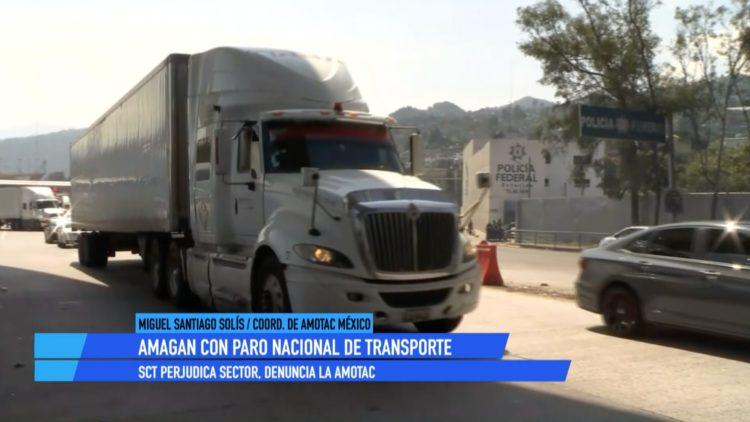 Miguel Ángel Santiago Solís AMOTAC paro transportistas El Heraldo TV
