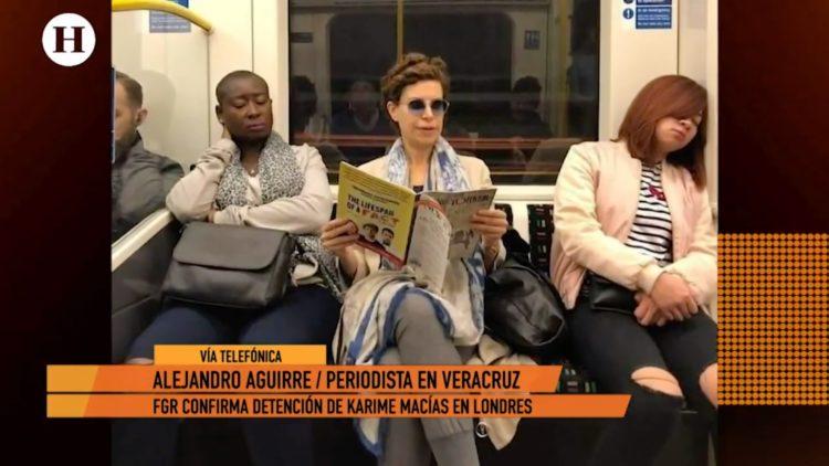 ¿Cuáles fueron las sospechas para la detener a Karime Macías_
