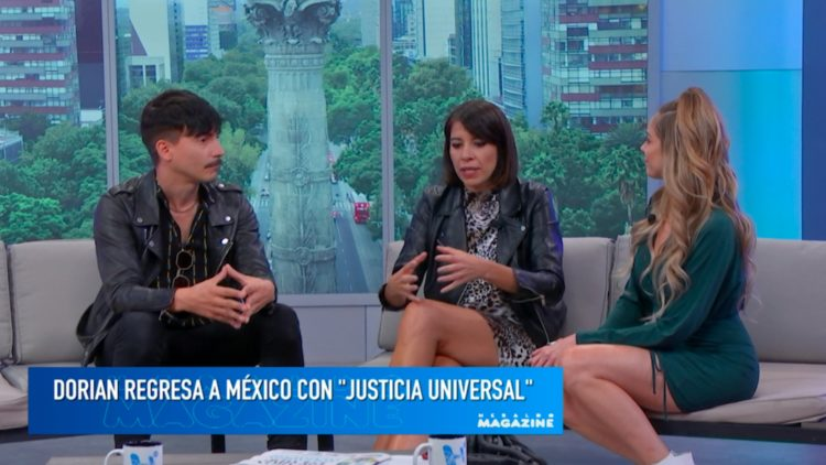 Dorian presenta Justicia Universal