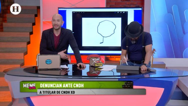 Periodistas denuncian ante la CNDH a Rosario Piedra Ibarra