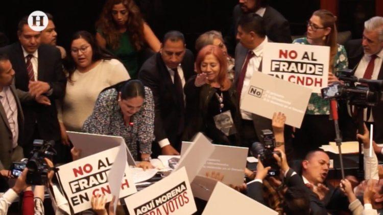Toma de protesta Rosario Piedra Ibarra