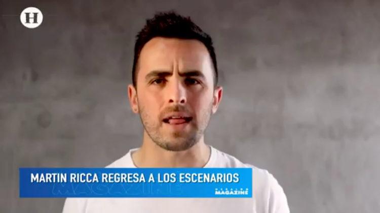 Martín Ricca regresa escenario sencillo Te puedes ir