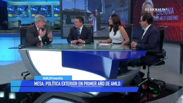 AMLO, Primer año, gobierno, informe, política exterior, avances, pendientes, El Heraldo TV, Jesús Martín Mendoza, Brenda Peña,