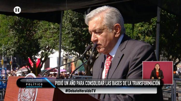 AMLO primer informe año 4T El Heraldo TV