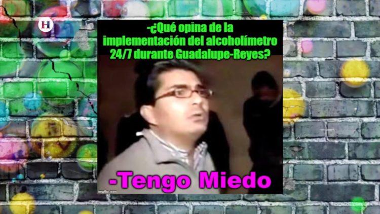 Maratón Guadalupe-Reyes contará alcoholímetro 24 horas