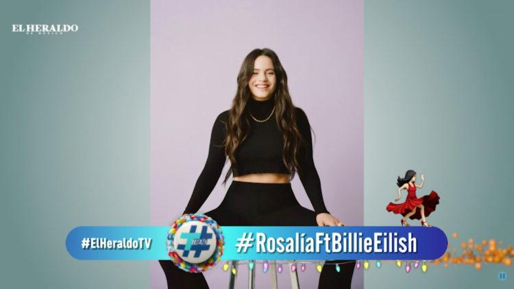 Rosalía anuncia colaboración en inglés y español con Billie Eilish