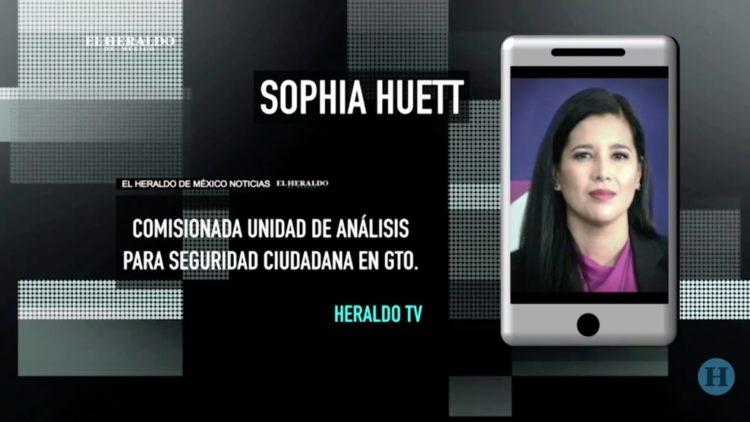 Sophia Huett seguridad Guanajuato