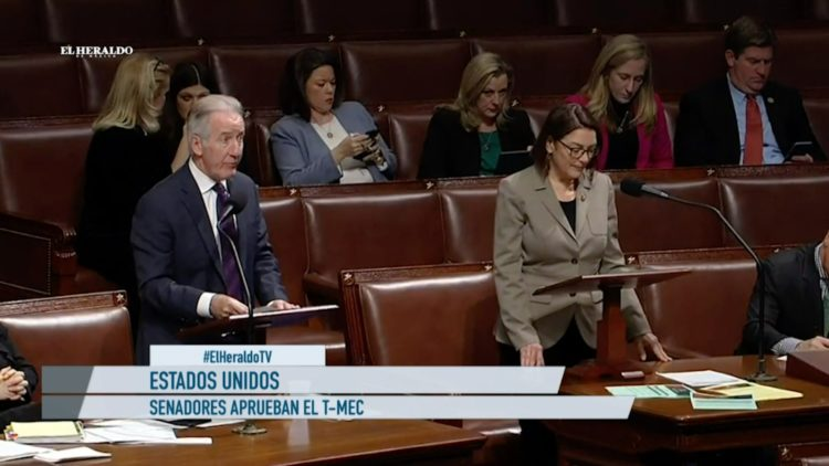 T-MEC Estado Unidos Senado México AMLO El Heraldo TV