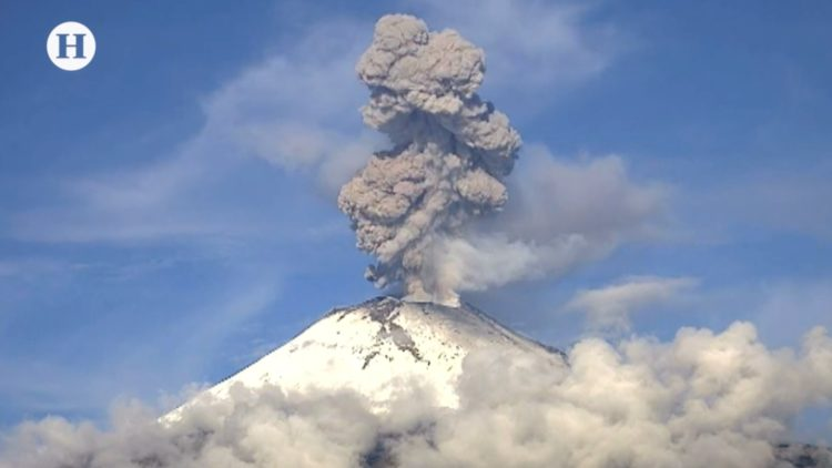 Volcán-Popocatépetl-Monitoreo-UNAM-Webcams México-Paulino Alonso