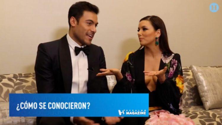 Eva Longoria confesó que es fan de Carlos Rivera desde hace tiempo
