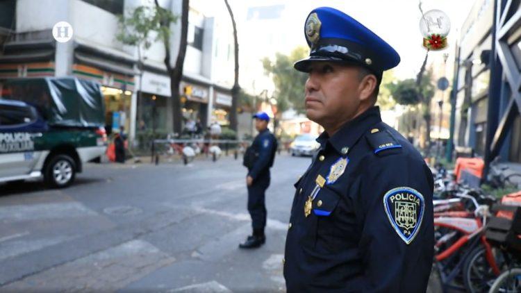 secuestro mujer impide policía CDMX El Heraldo TV