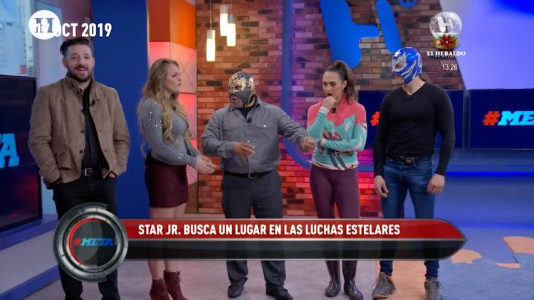luchadores de la AAA CMLL estuvieron 2019