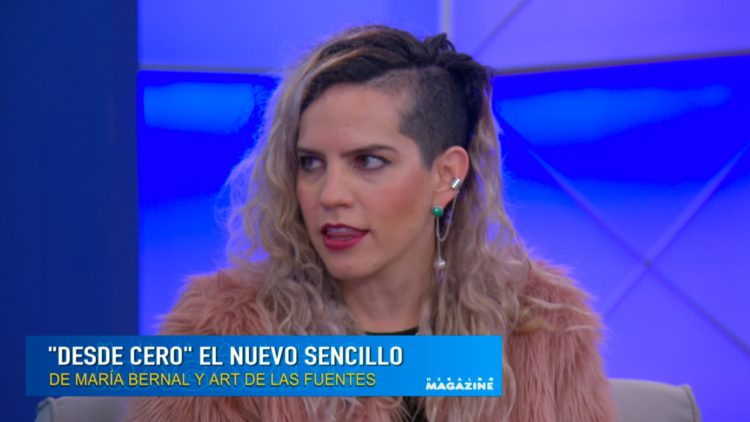 Pensé que era común que grandes artistas cantaran mi música_ María Bernal