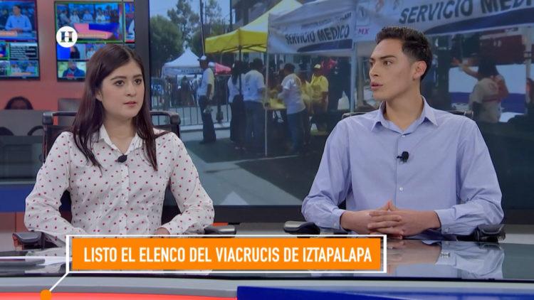 Elenco Viacrucis Iztapalapa El Heraldo TV
