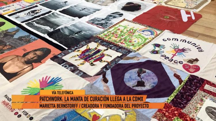 Parchwork manta curación CDMX El Heraldo TV